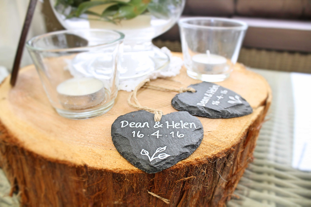 slate wedding placenames