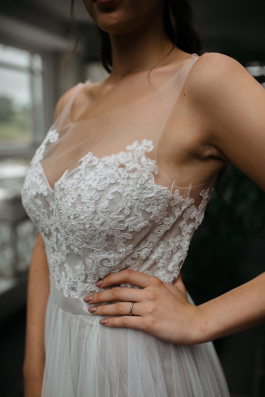 lace wedding dress shade bridal nottingham