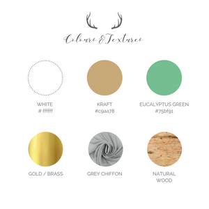 Rustic Wedding Colour Palette