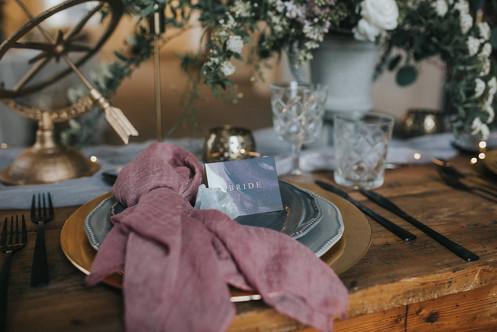 celestial wedding table decor