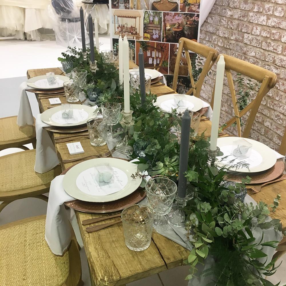 the luxury wedding fair exhibition stand