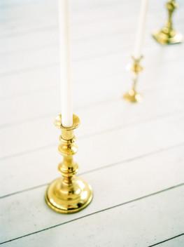 brass candlesticks hire leicester