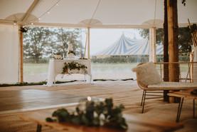 outdoor wedding cake white dressing table