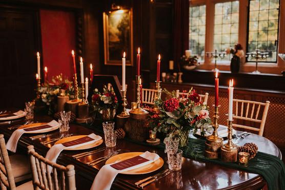 christmas table centrepeice