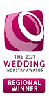 The Wedding Industry Awards regional winner best wedding stylist 2021