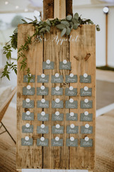 escort cards wedding table plan alternative ideas