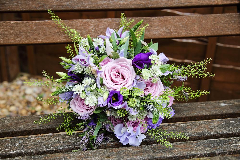 wildflower wedding flower bouquet leicester