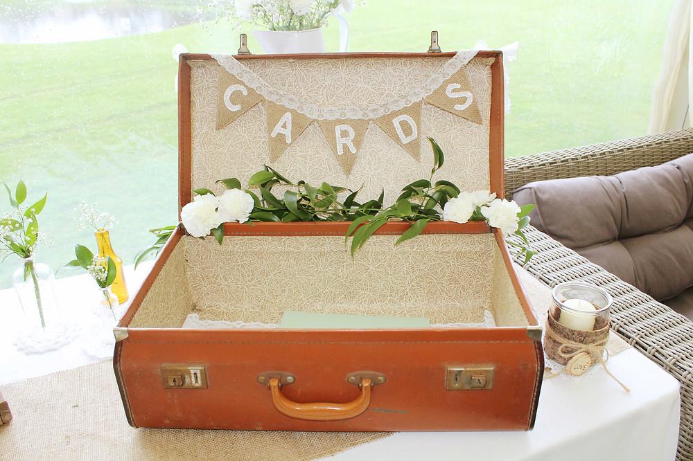 vintage suitcase hire Oakham