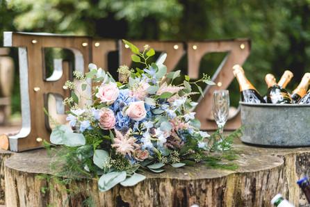Hothorpe Hall Woodlands Wedding Decor