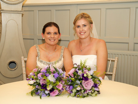 Lucy & Sarah: A Shearsby Bath Wedding