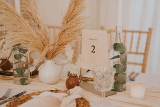 natural texture table numbers