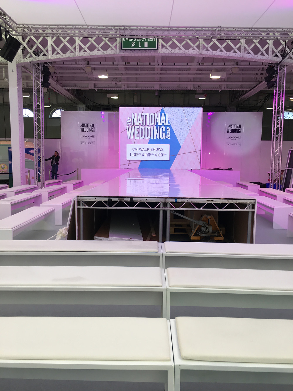 the national wedding show catwalk stage london
