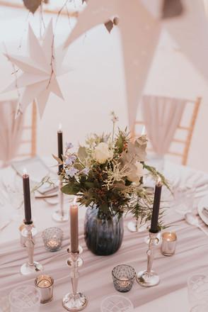 silver star wedding ideas