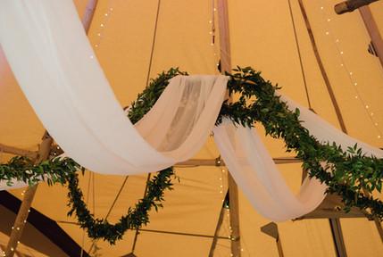 Tipi Tuscan drapery