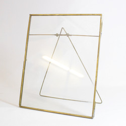 """BRASS PICTURE FRAMES 8X10"""""""