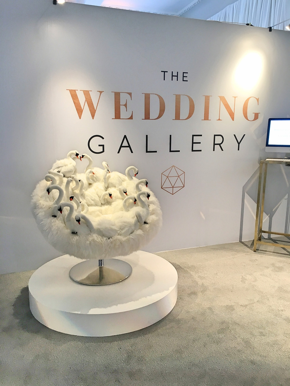 the wedding gallery london swan chair