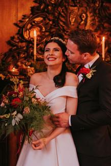 christmas wedding at weston hall