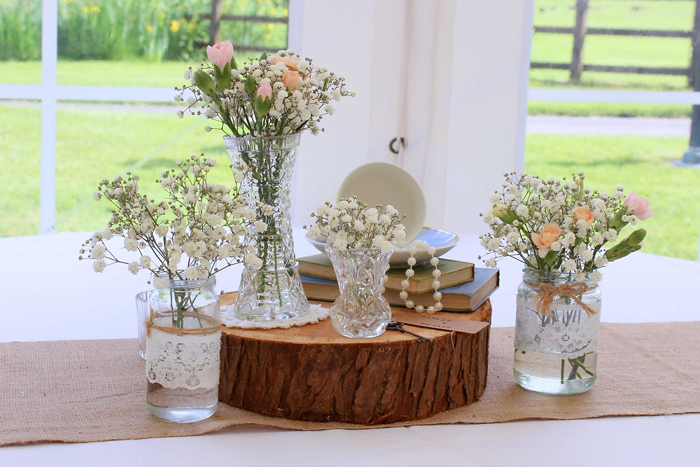 Vintage Centre Piece ideas