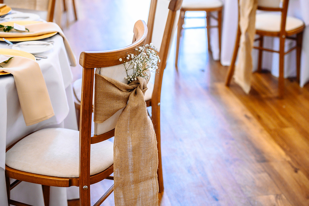 hessian chair sash mythe barn