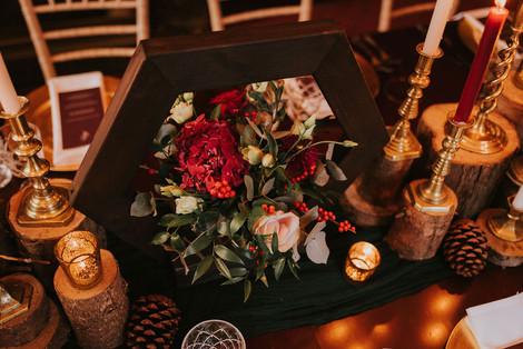 red wedding floral ideas