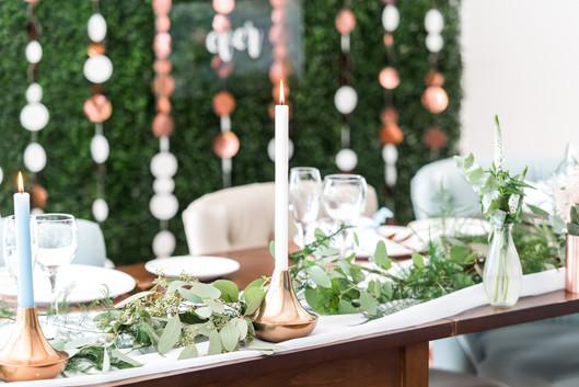 Hothorpe Hall Woodlands Wedding top table