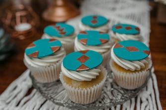 copper cupcakes