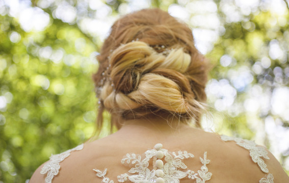 woodland wedding hair ideas