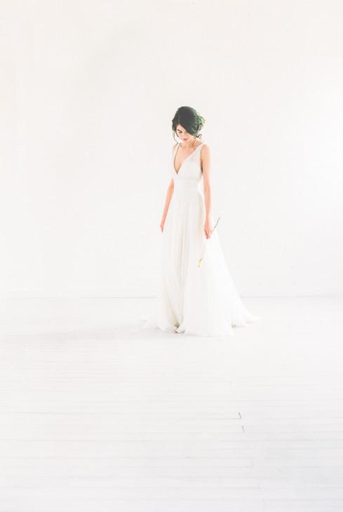 white wedding inspo