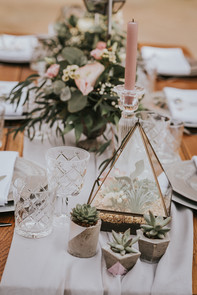 terrarium wedding hire