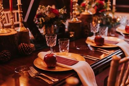 apple wedding favours fruit