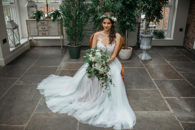 boho bride dress