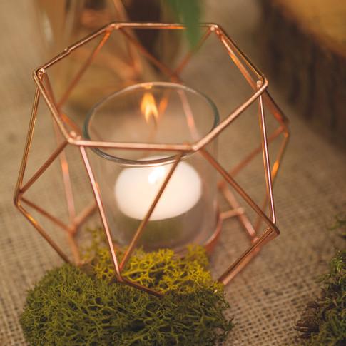 Woodland Wedding Ideas Moss Copper