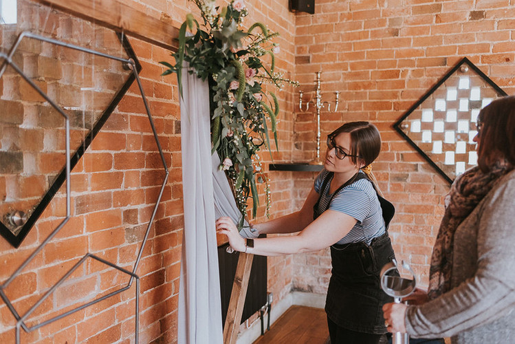 styling team the rustic wedding company