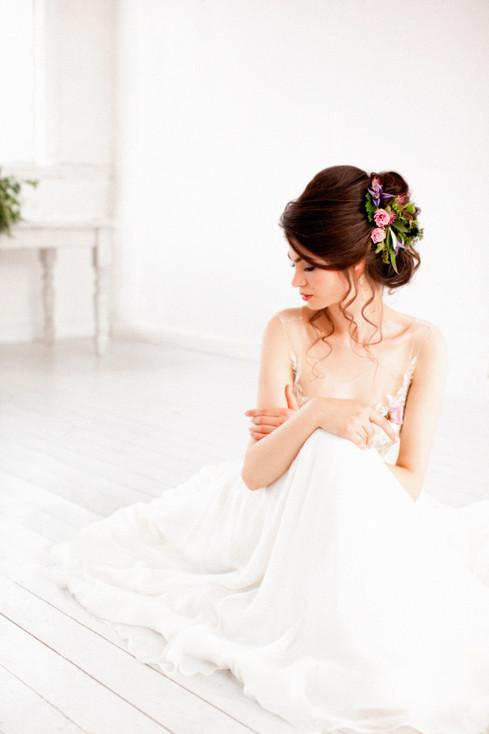 bride alison jenner hair