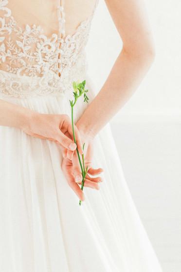 shade bridal delicate wedding dress
