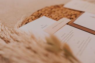 simple wedding menus