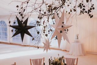 blue star wedding theme