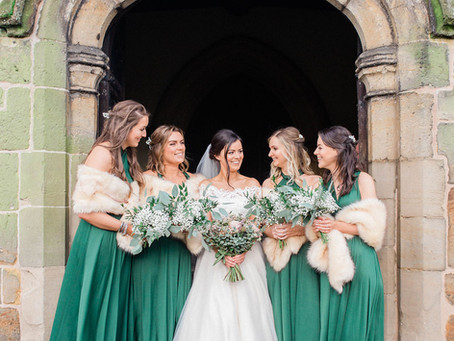 Jemma & Charlie - A Winter Wedding: The Old Stables