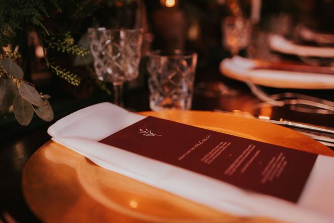 luxury burgundy wedding stationery