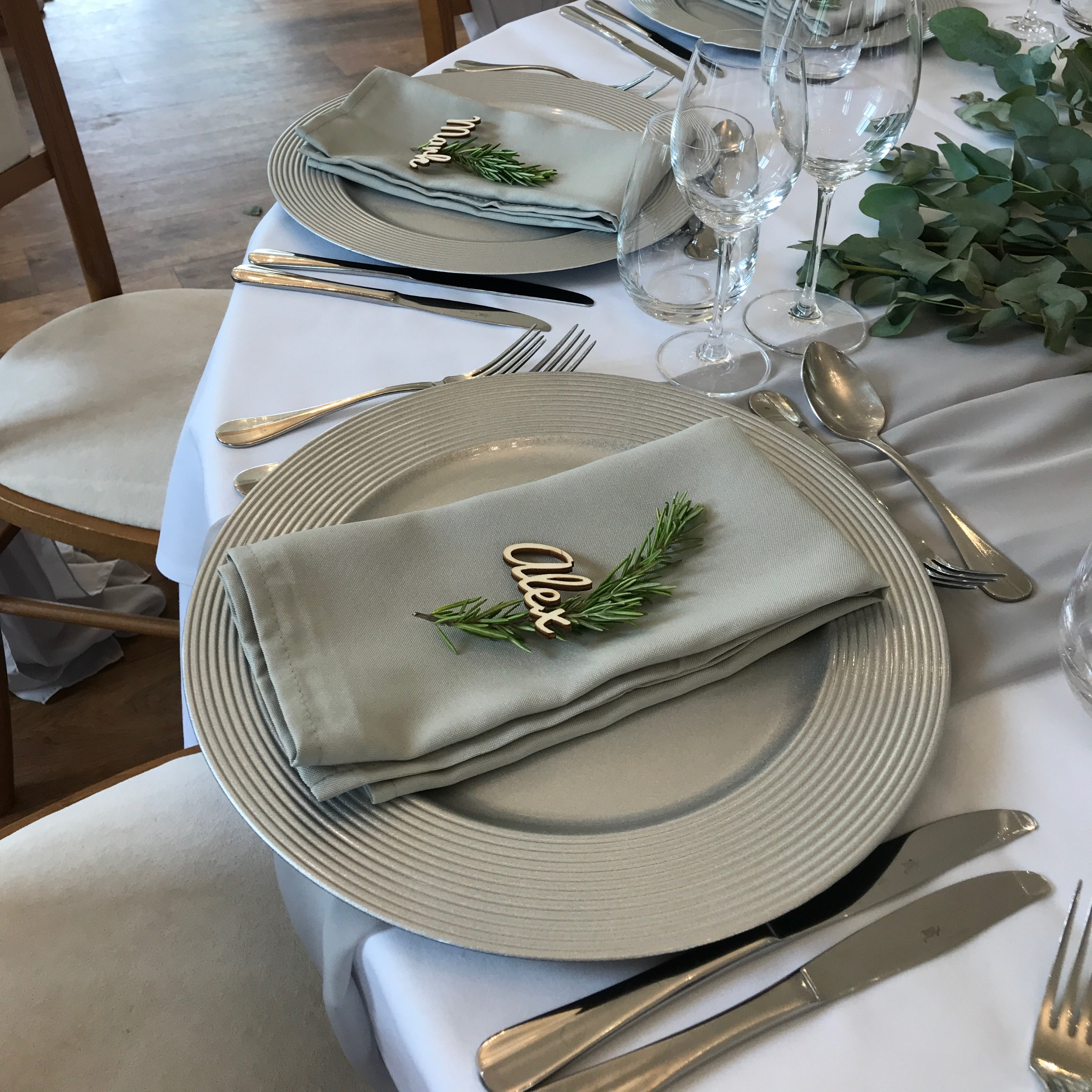 DOVE GREY NAPKINS