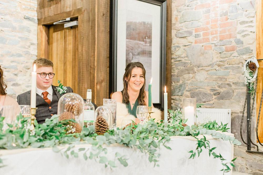 eucalyptus top table garland
