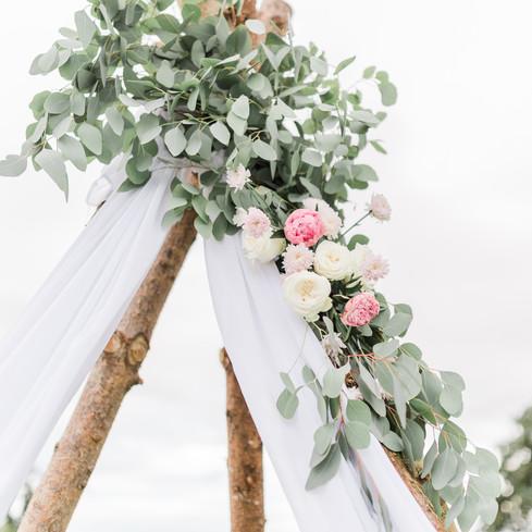 boho wedding styling leicester