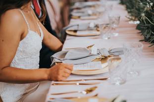 top table at dodmoor house wedding venue northamptonshire