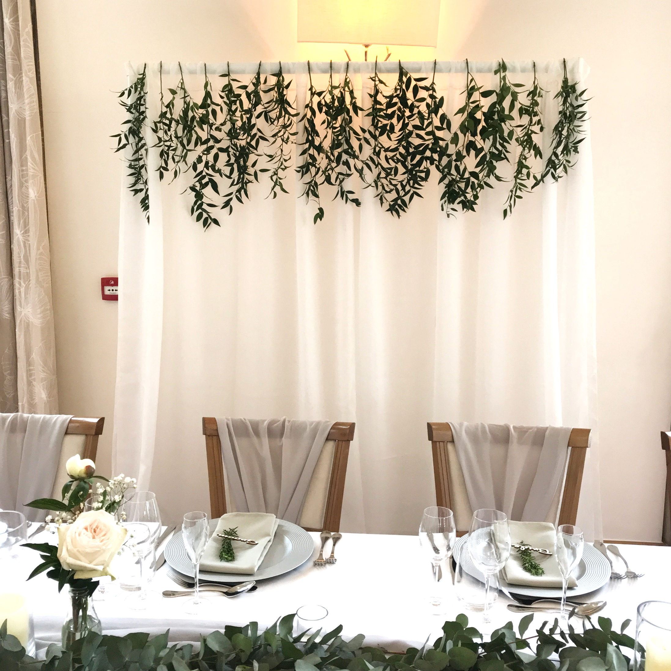 GREENERY DRAPE BACKDROP