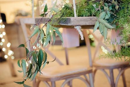 top table greenery ideas
