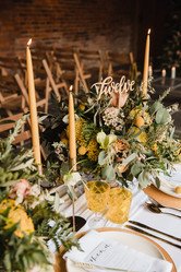 mustard wedding ideas