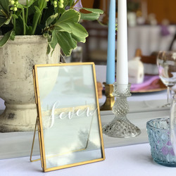 FRAME TABLE NUMBERS
