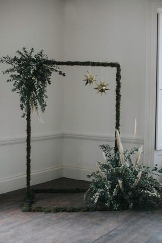 alternative wedding arch way