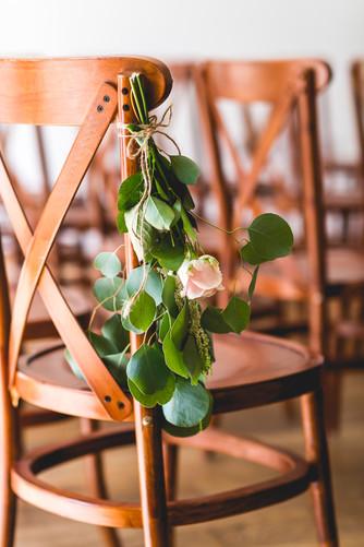 Hothorpe Hall Woodlands Wedding indoor ceremony