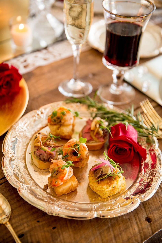 Rustic Christmas Wedding food Ideas